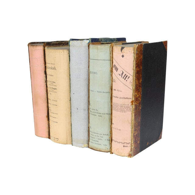 Deconstructed Antique Books - Set of 5 - Image 1 of 4