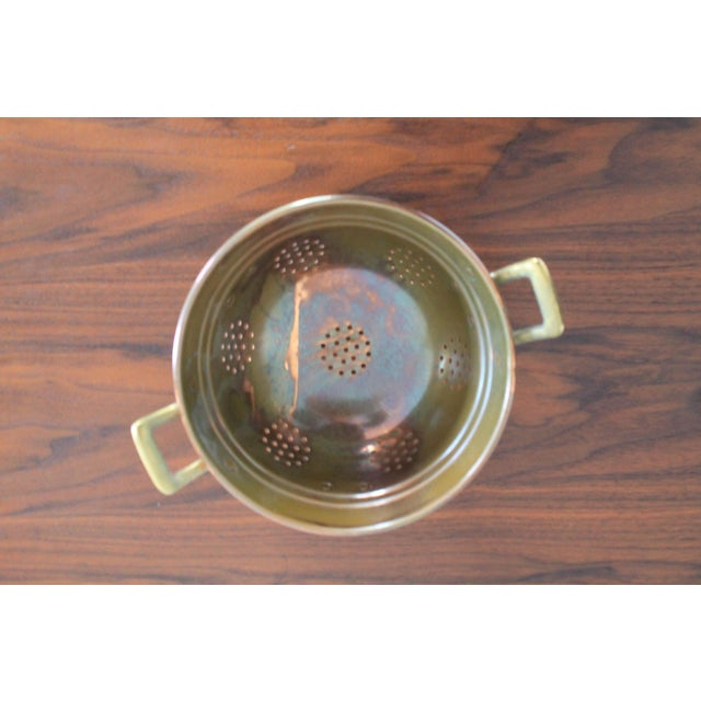 VintageCopper Colander For Sale In Milwaukee - Image 6 of 8