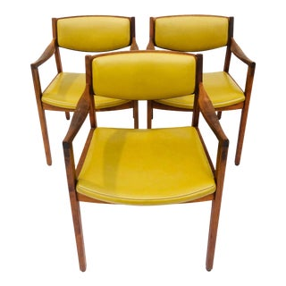 1960s Vintage Gunlocke Chairs Mid Century Modern For Sale