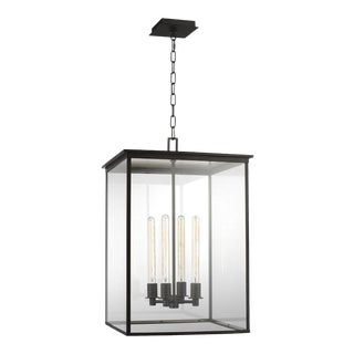 Chapman & Myers by Generation Lighting Freeport Large Outdoor Pendant, Copper