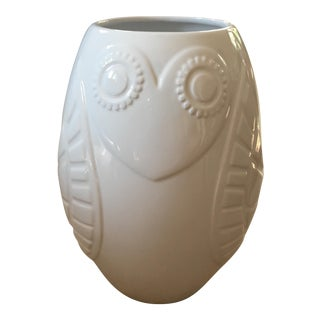 Jonathan Adler Abstract Owl Vase