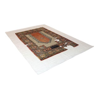 Sarreid Ltd Wool & Linen Carpet - 6' X 9' For Sale