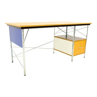 Mid-Century Modern Charles and Ray Eames for Herman Miller Esu D20 Edu Desk For Sale
