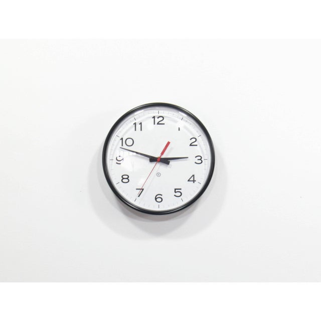Vintage Industrial Modern Peter Pepper Products Wall Clock - Image 2 of 5