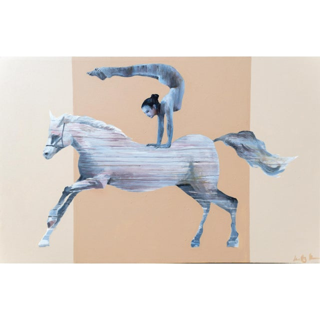 The Horse Vaulter Painting - Image 1 of 7