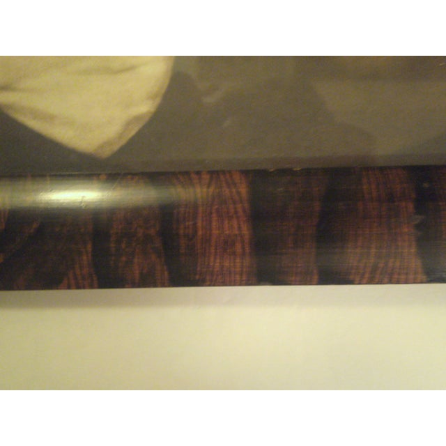 1910 Antique Rosewood Frame with Print - Image 4 of 8