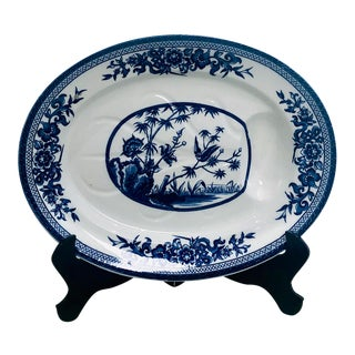 Bailey-Walker & Company Well and Tree Platter, England Circa 1881 For Sale