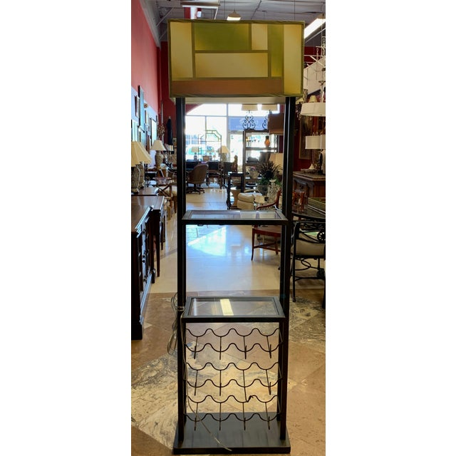 Van Teal Bacchus Wine Rack is quite the original combination of furniture functions: a narrow bar for storing and serving...
