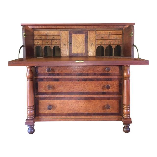 Birdseye Maple Butler's Desk - Image 1 of 9