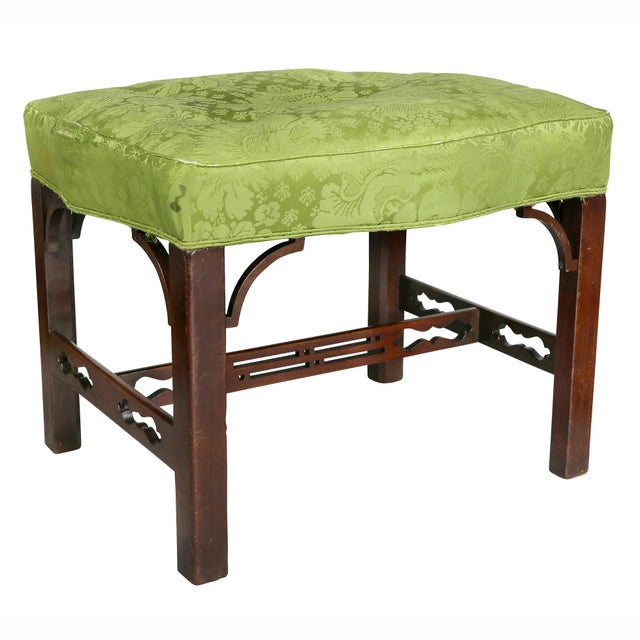 George III Mahogany Footstools - a Pair For Sale - Image 4 of 13