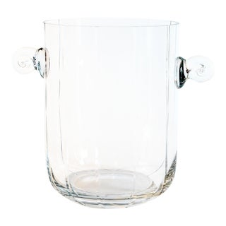 Minimalist Crystal Champagne Bucket For Sale
