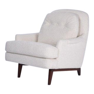 Dunbar Shearling Lounge Chair For Sale