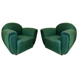 Image of Upholstery Club Chairs