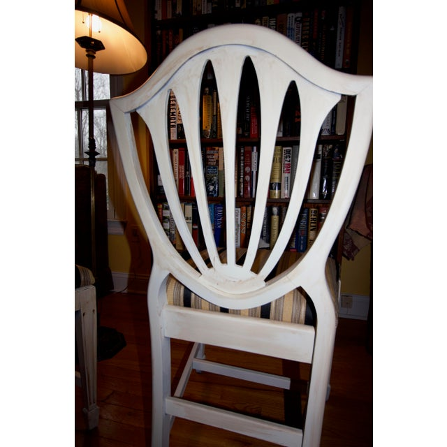 Wood Vintage 1940s Accent Chairs - a Pair For Sale - Image 7 of 11