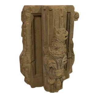 Antique English Stone Carving For Sale