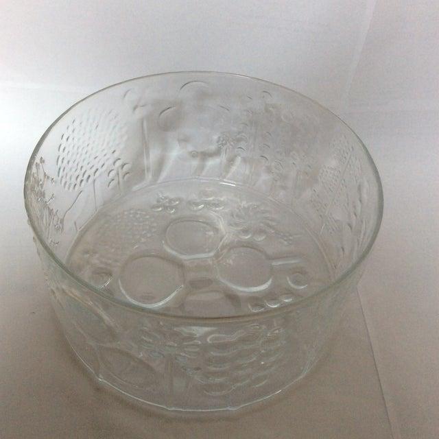 Vintage Iittala Oiva Toikka Flora Bowl For Sale In New York - Image 6 of 6