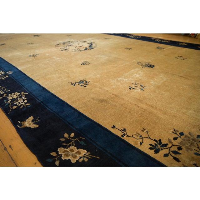 "Vintage Peking Carpet - 9'11"" X 17'4"" For Sale - Image 12 of 13"