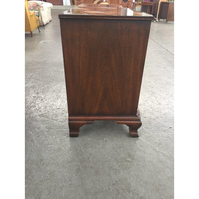 Wood Kindle Chippendale Walnut Triple Dresser For Sale - Image 7 of 10