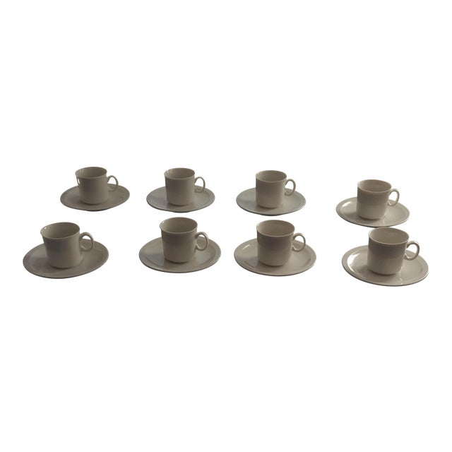 Yoko Ono Art Collection Collectors Espresso Set - Set of 8 For Sale