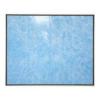 "Exclusive John O'Hara ""Piscine"" Encaustic Painting For Sale"