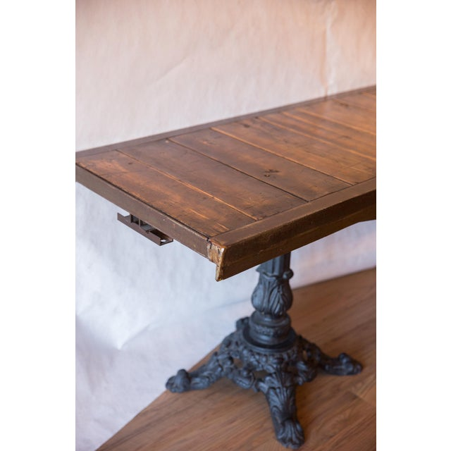 2010s Made in Usa Reclaimed Wood Buffet Table For Sale - Image 5 of 8