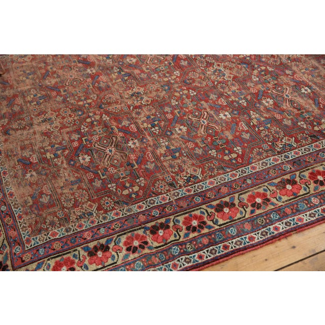 "Antique Kurdish Carpet - 5'10"" x 8'1"" For Sale In New York - Image 6 of 13"