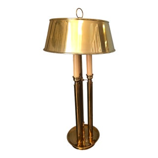 Vintage Stiffel Style Barrister Lamp For Sale