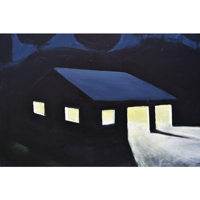 """""""Late Night Work"""" Contemporary Painting by Stephen Remick For Sale In Providence - Image 6 of 11"""