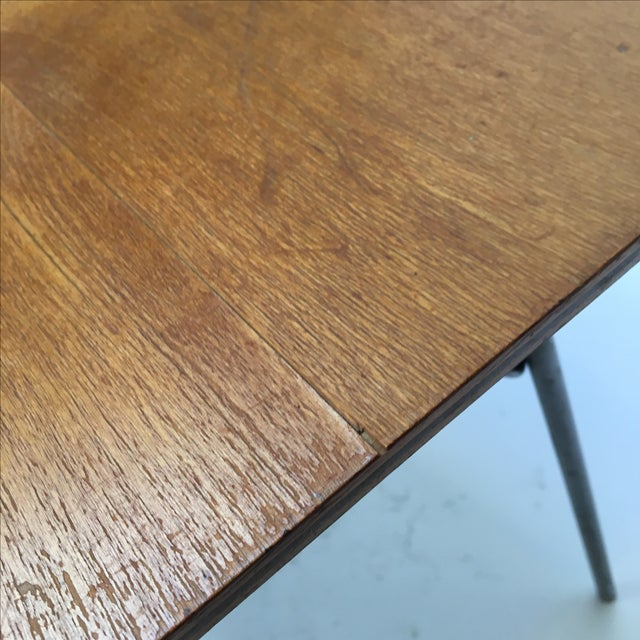 Vintage Eames IT-1 Child Size Folding Table For Sale In San Francisco - Image 6 of 11
