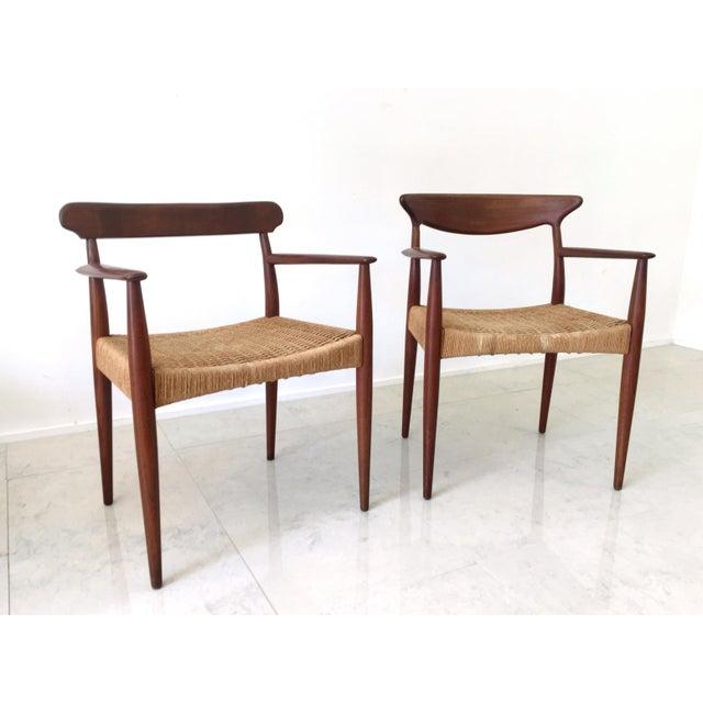Arne Hovmand Olsen Teak Dining Chairs -Set of 4 For Sale - Image 10 of 10