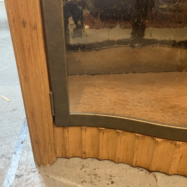 Metal Century Furniture Bunching Display Cabinet For Sale - Image 7 of 10