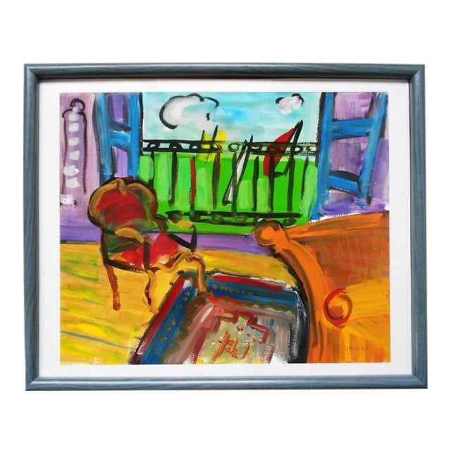 Room with a View Watercolor - Image 1 of 3