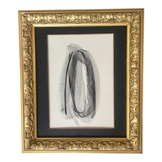 Abstract Charcoal, Pastel and Wax Drawing For Sale