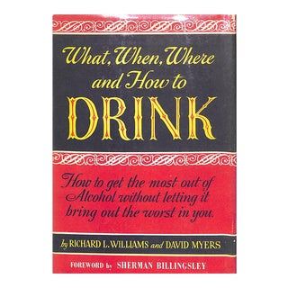 What, When, Where, and How to Drink Book For Sale
