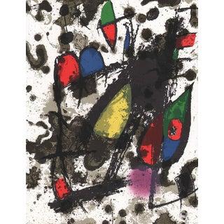 1975 Joan Miro V2-C Mourlot Original Lithograph For Sale
