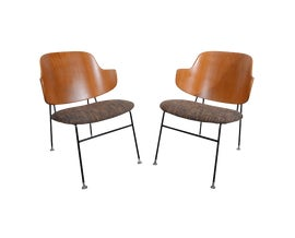 Image of Danish Modern Office Chairs