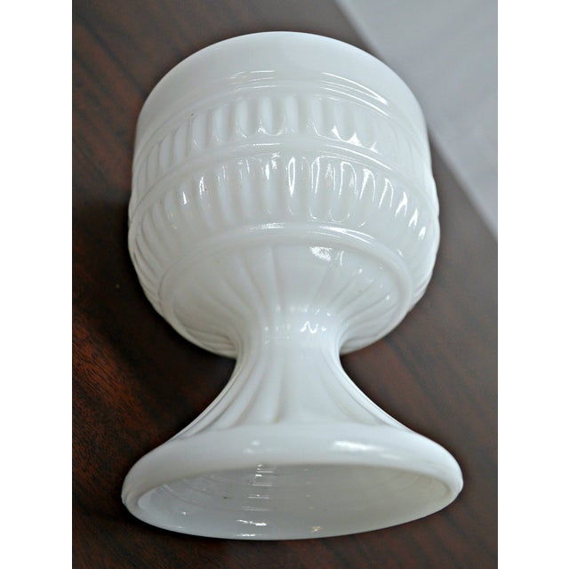 Milk Glass Compote Dish - Image 7 of 7