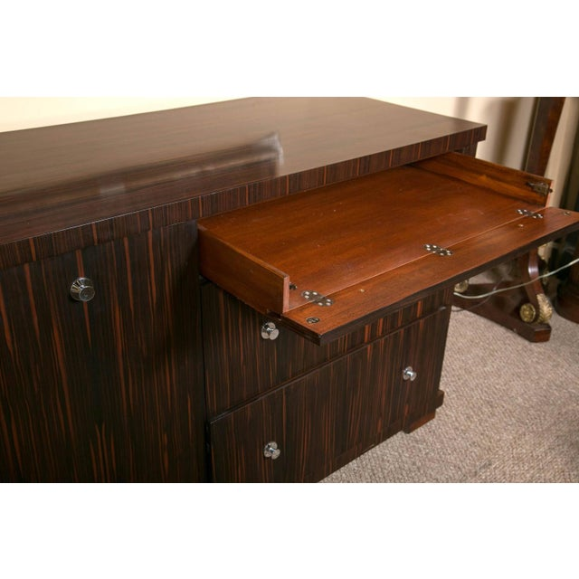 E.J. Victor Zebrawood Willie Chest For Sale - Image 7 of 10