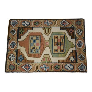 "Ege Axminster Abstract Danish Rug 79"" X 54"" For Sale"