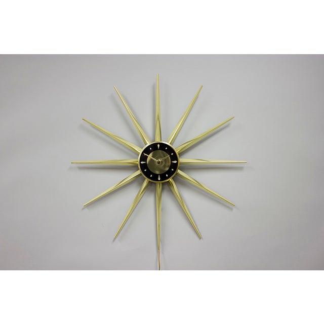 "1950s Vintage ""Master Star"" Clock For Sale - Image 5 of 5"