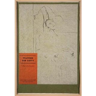 "Vintage Mid-Century r.b. Kitaj ""Waiting for Lefty"" Print For Sale"