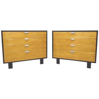 1950s Mid-Century Modern George Nelson for Herman Miller Bachelor's Chests - a Pair For Sale