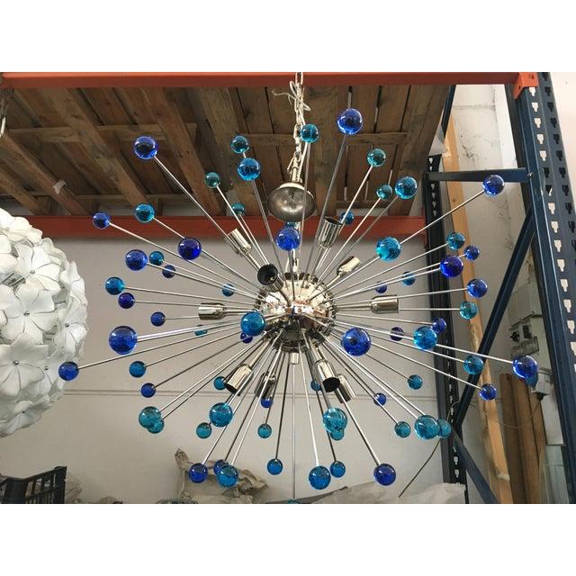 Contemporary Contemporary Murano Glass Triedo Sputnik Chandelier For Sale - Image 3 of 11