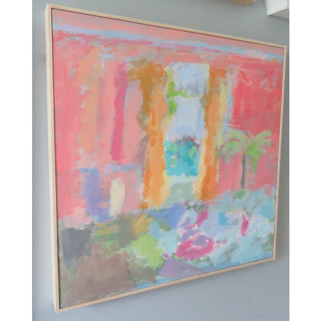 Abstract Edith Wharton's Dining Room by Anne Carrozza Remick For Sale - Image 3 of 6