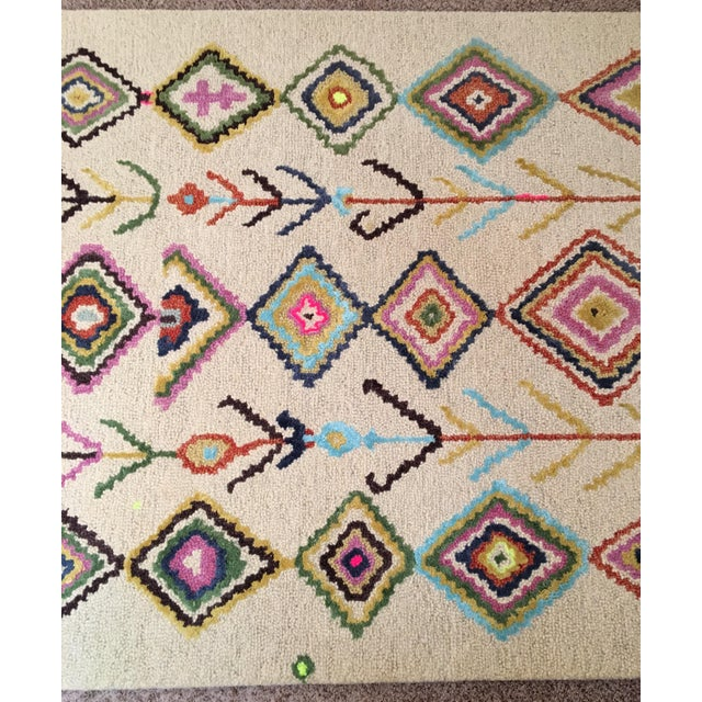 Berber Moroccan-Style Rug - 5′ × 8′ - Image 4 of 9