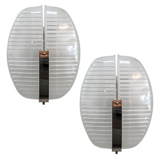 Pair of Vico Magistretti Wall Lights For Sale