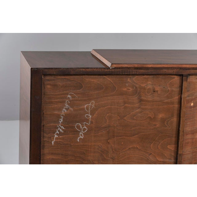 French Art Deco Walnut Sideboard For Sale - Image 12 of 13