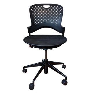 Contemporary Herman Miller Modern Black Caper Task Chair For Sale