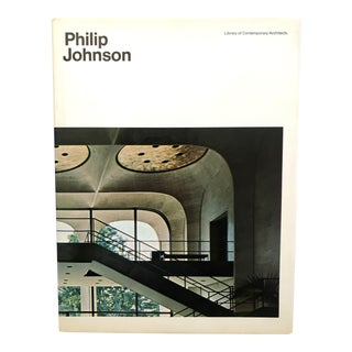 Philip Johnson, Architect, Book by Yukio Futagawa (Photographer), Charles Noble (Introduction) For Sale