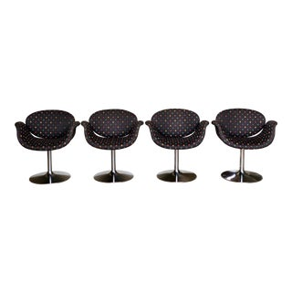 1960s Scandinavian Modern Pierre Paulin for Artifort Little Tulip Chairs - Set of 4